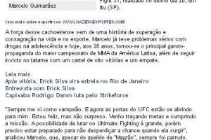 Marcelo Guimaraes -Rumo UFC