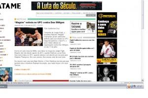 Tatame UFC Magrao